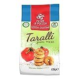 Flor de Puglia Taralli sabor pizza con aceite extra virgen de oliva sin gluten 175 g