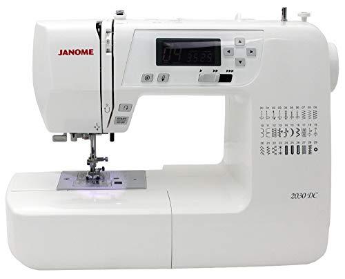 JANOME 2030 DC Máquina de coser computarizada - 2 años de garantía -