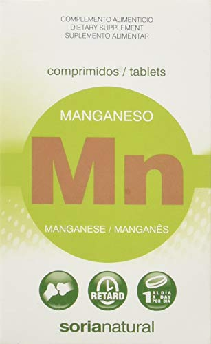 Soria Natural Manganeso Retard - 24 Tabletas