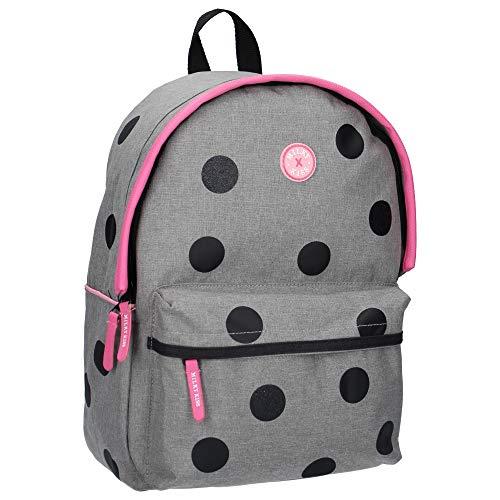 Milky Kiss Backpack All my Life Large Mochila Infantil, 39 cm, Gris (Grey)