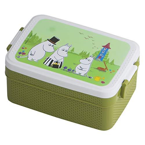 Rätt Start 6111 Brotdose/Lunchbox Mumin, grün, mehrfarbig, 185.4 g