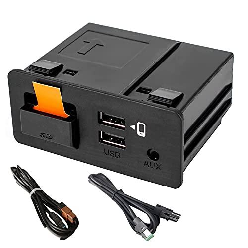 Road Top TK78-66-9U0C Kit di retrofit per auto Android Carplay per Mazda 2014-2020, modulo di interfaccia USB doppio per Mazda2, Mazda3, Mazda6, CX-3, CX-5, CX-9, MX-5 Porta interfaccia Miata Aux