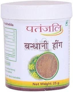 Patanjali BANDHANI HING ASAFOETIDA POWDER COMPOUNDED FOR Digestion 25gm(pack of 3)