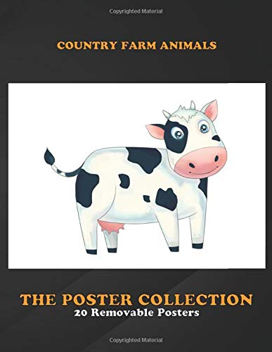 Poster Collection: Country Farm Animals This Handdrawn And Digitally Painted Illustration Of A Animals