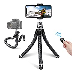 【Why choose us】UBeesize presents the phone tripod with the sole purpose of helping you capture the best life images and create live streams, videos or vlogs.The New Version emphasizes the upgrade of tripod's enhanced flexibility, sturdiness and wate...