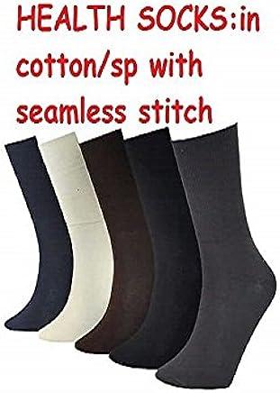 Diabetic socks pack of 5 pairs/Health socks/Diabetic socks men/Diabetic socks women/odour less/sweat absorbing socks/pack of 5 pairs