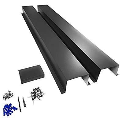EAGLE 1 Metal Line Set Cover Kit for Mini Split and Central Air Conditioner & Heat Pump