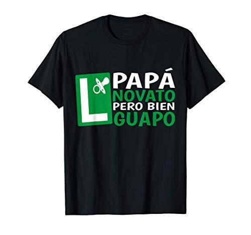 Hombre Papá en Prácticas Divertida Futuro Novato Anuncio Embarazada Camiseta