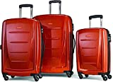 Samsonite Winfield 2 Hardside Expandable Luggage with Spinner Wheels, Orange, 3-Piece Set (20/24/28)
