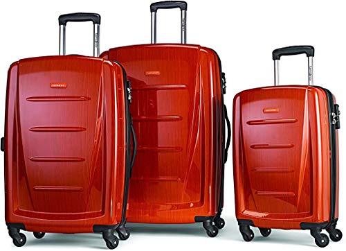 Samsonite Winfield 2 3PC Hardside (20/24/28) Luggage Set, Orange