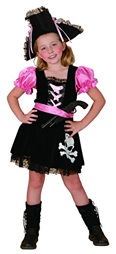 DEGUISE TOI - Déguisement Pirate Girly Fille - S 4-6 Ans (110-120 cm)