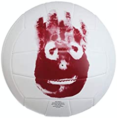 "CASTAWAY OFFICIAL: Replica version of the ""Mr. Wilson"" AVP Cast Away volleyball from the iconic film. OFFICIAL SIZE & WEIGHT: The size & weight used at the pro level, ideal for ages 13 and up. DURABLE CONSTRUCTION: Durable, 18-panel machine-sewn cons..."