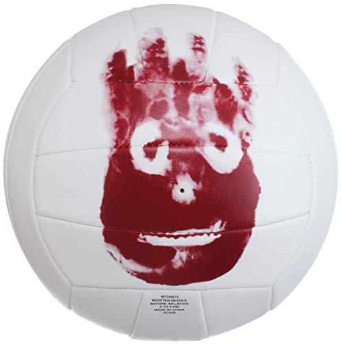 Wilson WTH4615XDEF Pelota de Voleibol Castaway Mini Mr Cuero sintético, Unisex Adulto, Blanco, Talla única