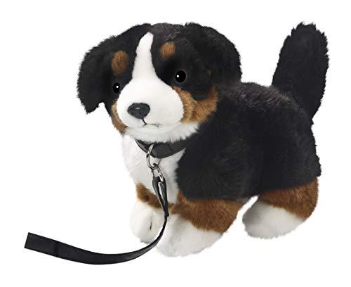 Carl Dick Berner Sennenhund mit Leine stehend aus Plüsch, ca. 25cm 3306