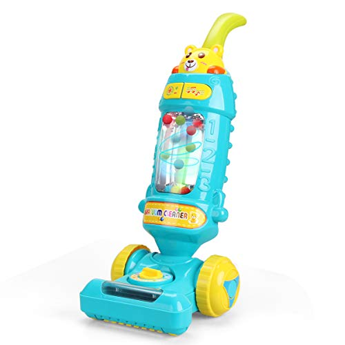 FS Kids Vacuum Cleaner Toy for Toddler with Lights & Sounds Effect & Ball-Popping Action – Pretend Pay Housekeeping Toys Great Gifts for Toddlers, Boys and Girls, Ages 3 4 5 6