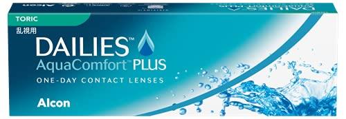 Dailies AquaComfort Plus Toric Lenti a Contatto Giornaliere, 30 Lenti, BC 8.8 mm, DIA 14.4 mm, CYL -0.75, Asse 100, 3.50 Diopt
