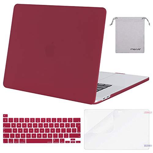 La custodia è stata progettata SOLO per essere compatibile con MacBook Pro 16 pollici con Touch Bar, Touch ID e display Retina (modello: A2141, uscita nel 2020 2019 - MVVJ2LL / A, MVVL2LL / A, MVVK2LL / A, MVVM2LL / A). ATTENZIONE: questa custodia NO...