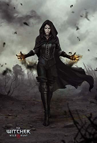 Wayne Dove The Witcher 3 Wild Hunt Póster en Seda/Estampados de Seda/Papel Pintado/Decoración de Pared 927480681