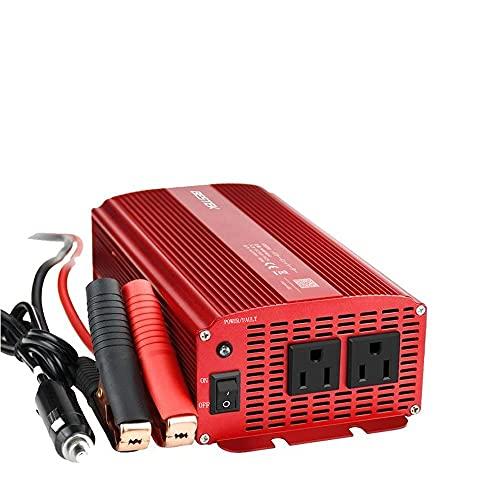 BESTEK インバーター 1000W カー パワー チャージャー DC 12V to AC 100V 50Hz/60Hz 高出力 ハイパワー 定格:1000W 最大:1200W MRI10010 MRI10010-JP