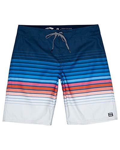 Billabong All Day Stripe 20 Board Shorts for Men Boardshorts Herren Navy 34