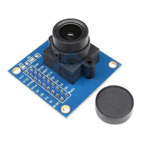 ZTSHBK OV7670 Bildsensor-Kameramodulplatine 300KP VGA CIF-Anzeige für automatische Belichtungssteuerung für Arduino-Niederspannung