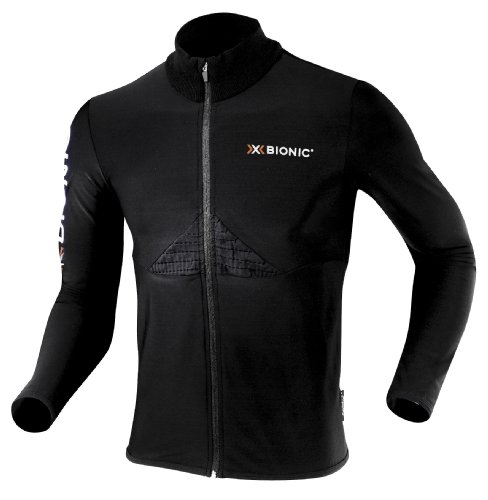 X-Bionic Erwachsene Funktionsbekleidung W Crosscountry CF Man Beaver Jacket Full Zip, Black, S