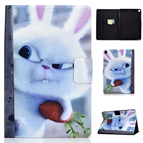 Tedtik Case for iPad Air 10.5' (3rd Gen) 2019 / iPad Pro 10.5' 2017 / iPad 10.2 Smart Case Cover - Ultra Slim Lightweight Stand Case with Stand Function - Rabbit