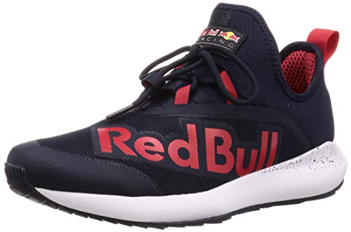 PUMA Red Bull Racing Evo Cat II Ignite Sneaker Night Sky-Chinese Red-White UK 9_Adults_FR 43