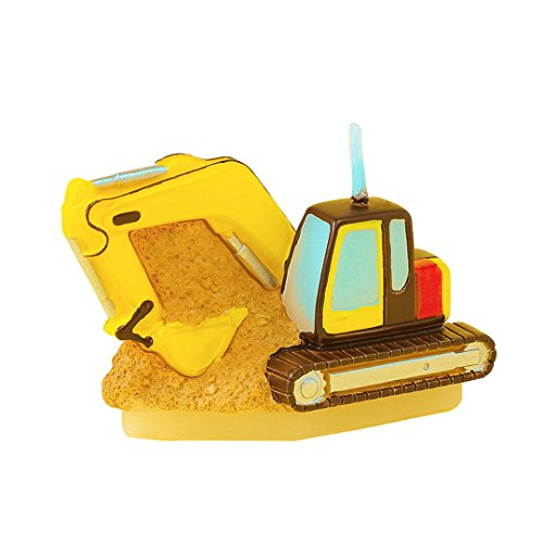 Children's Party Birthday Gift Birthday Candle Excavator Candle for boy for Cake