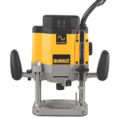 DEWALT Router, Plunge Base, Variable Speed, 3-HP (DW625)