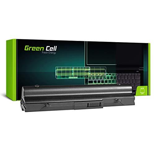 Green Cell Batería para ASUS EEE PC 1001 1001HA 1001HAG 1001HT 1001P 1001P-MU17-BK 1001PG 1001PQ 1001PQD 1001PX 1001PX-BLK003 1001PX-BLK003X 1001PX-BLK3X Portátil (6600mAh 11.1V Negro)