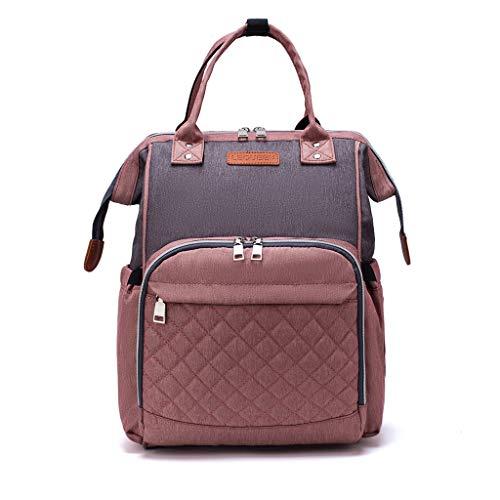 PINGDI Mummy Nappy Diaper Bag Maternity Large Capacity Baby Care Nursing Backpack