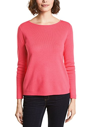 Street One Damen 300540 Pullover, Rosa (Colada Pink Knit 11262), 44