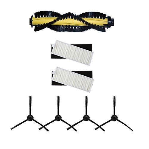 Cepillo Lateral Hepa Filter Roller Robot Barrido Kits de Repuesto para ILIFE A4