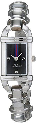 Paul Versan Reloj Análogo clásico para Mujer de Cuarzo con Correa en Acero Inoxidable PV4060