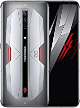 Red Magic 6 Pro Dual SIM 165Hz Display 5G Gaming Smartphone Factory Unlocked US Version 16 GB RAM + 256 GB 64MP Camera Android 11 Cell Phone Silver
