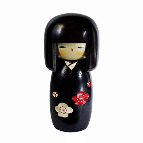 Usaburo sosaku muñeca Kokeshi Sachinohana fabricado en Japón