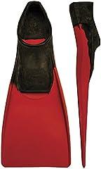 Finis Long Floating Fin 9-11 Black/Red (Euro 42-44), Unisex-Adult, Negro/Rojo, XL-EU42-44
