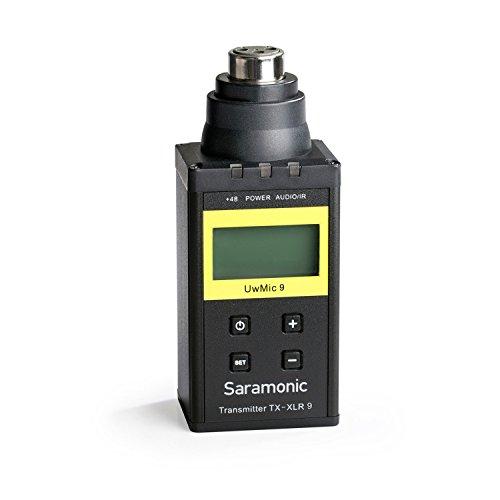 Saramonic UwMic9-TX-XLR9 Transmisor enchufable con pantalla