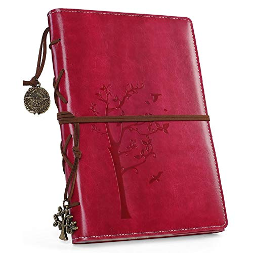 Refillable Writing Journals,Vintage Faux...