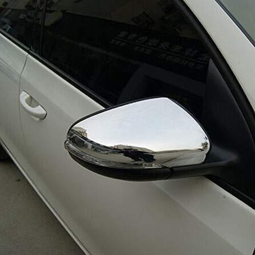 Styling della Copertura della Protezione di Alta qualità ABS plastica ABS Chrome Side Rrearview Specchio Trim for Volkswagen VW Golf 6 MK6 2009-2013 2PCS / Set Car