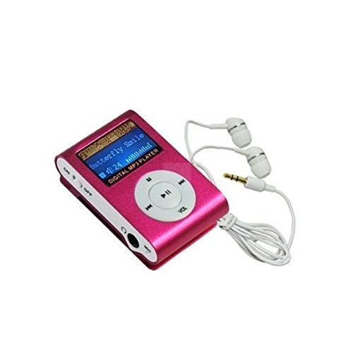 Durshani 4GB MP3-Player mit Radio - rosa by