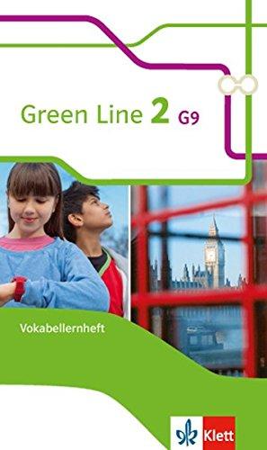 Green Line 2 G9: Vokabellernheft Klasse 6 (Green Line G9. Ausgabe ab 2015)