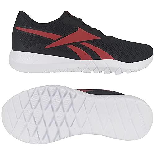 Reebok Herren FLEXAGON Energy TR 3.0 Leichtathletik-Schuh, Schwarz, Rot, Weiß (Negbás Vecred Ftwbla), 45 EU