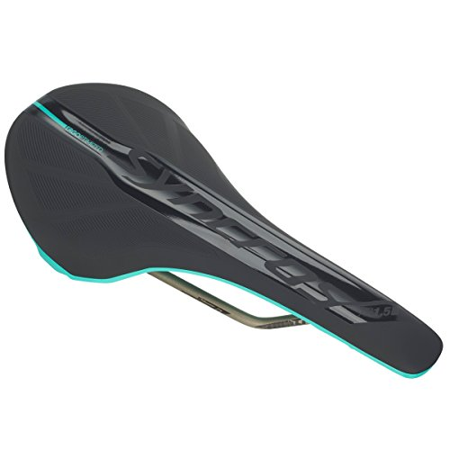 Syncros XR1.5 - Sillín para bicicleta de montaña (143 mm), color negro