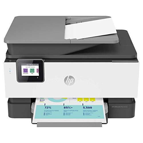 HP OfficeJet Pro 9018 All-in-One Wireless Printer, with Smart Home Office Productivity, 3UK84A (Renewed)