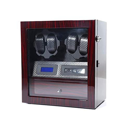 AMITD Caja giratoria para Relojes, rectángulo, Reloj, Reloj, Caja de Reloj, Caja de Reloj, Caja de Reloj, Caja de Reloj, Caja de Cambiador
