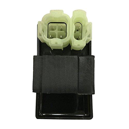 B Blesiya Caja de Encendedor CDI de Corriente Alterna Negra para Motor Scooter ATV GY6 50CC / 125CC / 150CC