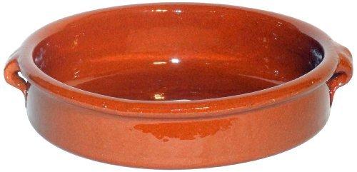 Amazing Cookware Plat Rond en Terre Cuite Marron 17 cm