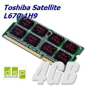 DSP Memory 4GB Speicher/RAM für Toshiba Satellite L670-1H9
